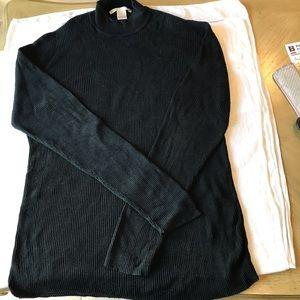 Perry Ellis men's ribbed sweater size XL - Black